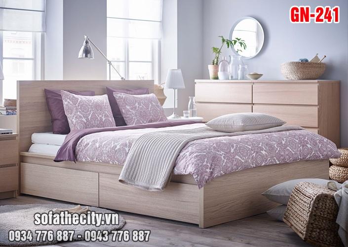 Giường Ngủ Kiểu Nhật Hiện Đại - GN241
