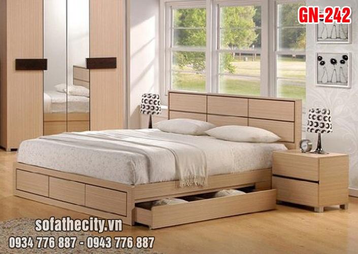 Giường Ngủ Kiểu Nhật Hiện Đại - GN242