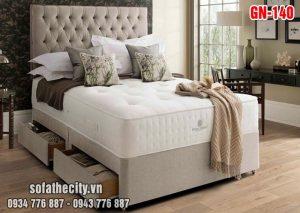 Giường Ngủ Ốp Nệm Cao Cấp - GN140