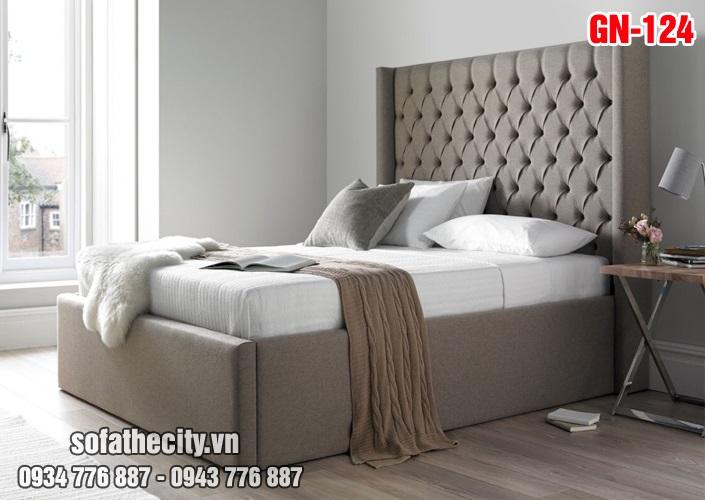 Giường Ngủ Ốp Nệm Cao Cấp - GN124