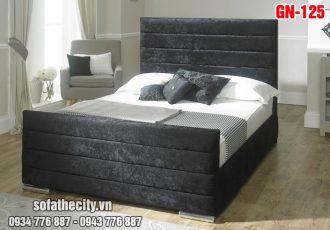 Giường Ngủ Ốp Nệm Cao Cấp - GN125
