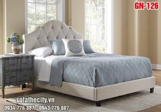 Giường Ngủ Ốp Nệm Cao Cấp - GN126