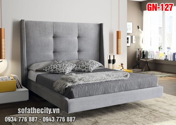 Giường Ngủ Ốp Nệm Cao Cấp - GN127