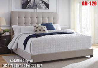 Giường Ngủ Ốp Nệm Cao Cấp - GN129