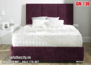 Giường Ngủ Ốp Nệm Cao Cấp - GN130