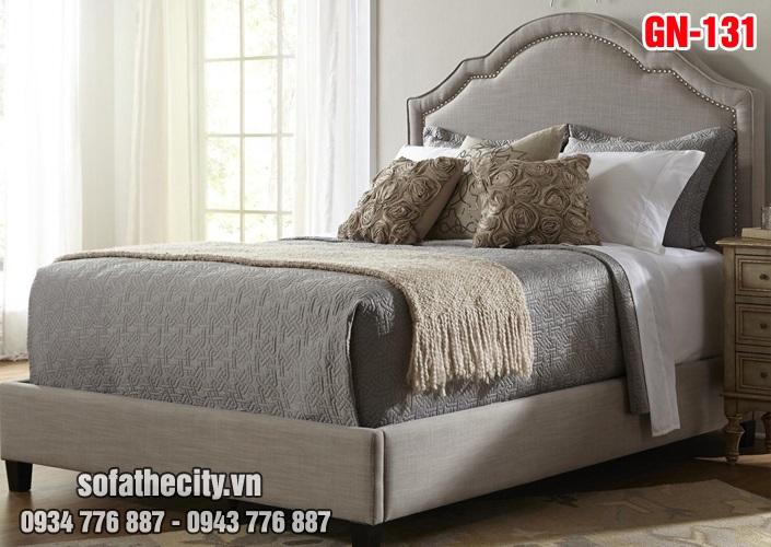 Giường Ngủ Ốp Nệm Cao Cấp - GN131