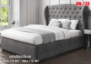 Giường Ngủ Ốp Nệm Cao Cấp - GN133