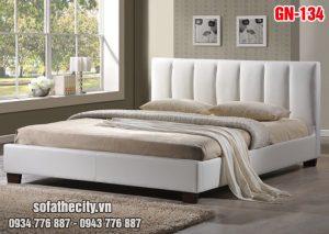Giường Ngủ Ốp Nệm Cao Cấp - GN134