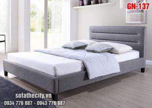 Giường Ngủ Ốp Nệm Cao Cấp - GN137