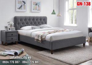 Giường Ngủ Ốp Nệm Cao Cấp - GN138