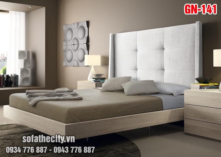 Giường Ngủ Ốp Nệm Cao Cấp - GN141