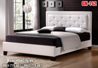 Giường Ngủ Ốp Nệm Cao Cấp - GN142