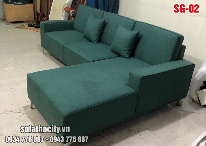 Sofa Góc Nhỏ Màu Đẹp SG 02