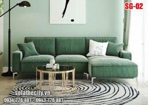 Sofa góc mini cực sang