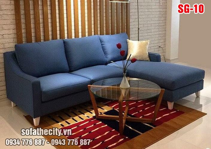 Sofa góc L nhập khẩu siêu đẹp