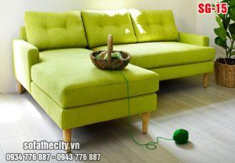 Sofa Góc Mini Sang Chảnh