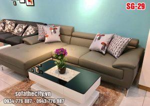 Sofa Góc Đầu Bật Đẹp