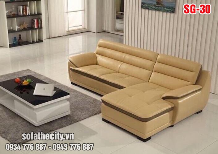 Sofa Góc Phòng Khách Hiện Đại
