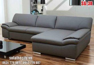 Bộ Ghế Sofa Phòng Khách Màu Tím