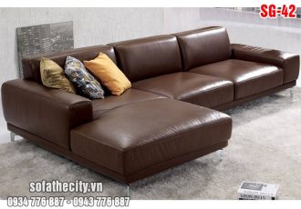 Sofa Góc Nhỏ Da Hàn Quốc
