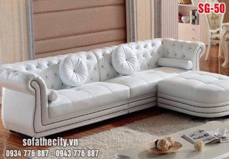 Sofa Góc Cổ Điển Cao Cấp