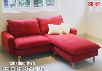 Sofa góc mini siêu nhỏ