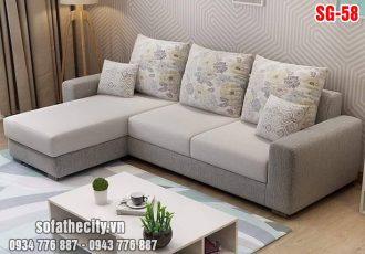 Sofa Góc Nhỏ Màu Đẹp