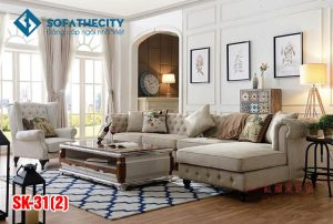 Sofa Phòng Khách Cao Cấp SK 31